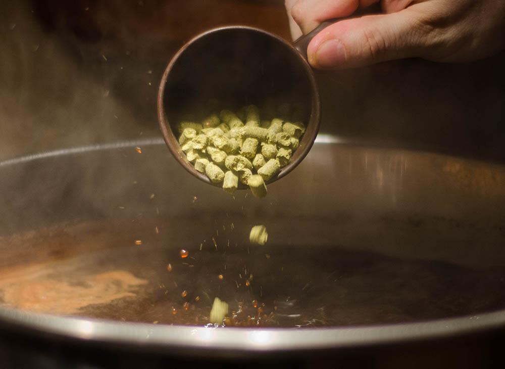 Small Batch Brew - Hop Pellet Addition