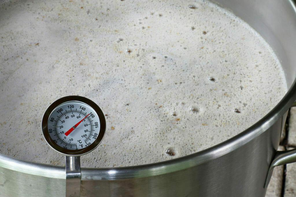 Home Brew Wort Boil